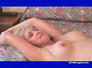 Two Loads 4 Blonde Granny Lola - DFWKnight