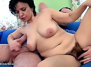 Hairy Handjob Mature
