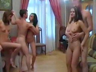 Freedom of sex in russian dorm