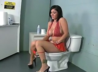blowjob in the bathroom