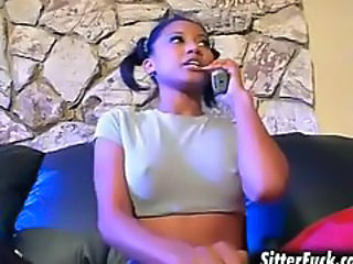 Babysitter Ebony Nipples