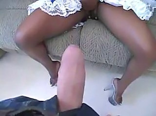 Ebony Interracial Pov