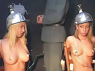 Hot chicks fucked by Nazis