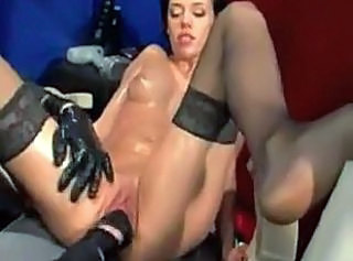 Extreme mature huge insertions