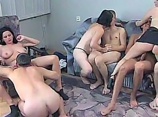 College reunion leads to Awesome Orgy
