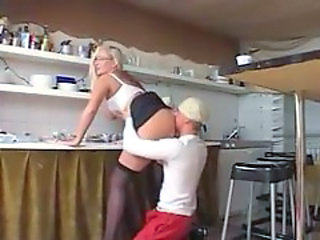 German Stockings Teacher