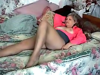Mature in bed