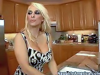 Holly Halston Kitchen Fuck