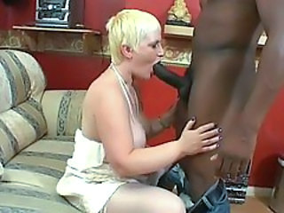 Blowjob British Granny Interracial