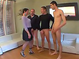 Gangbang For Sophie, French Milf