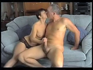 Handjob Kissing Mature