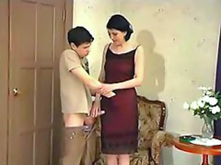 Handjob MILF Teenager