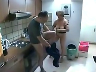 Dirty mom and daughter sharing lucky fucker