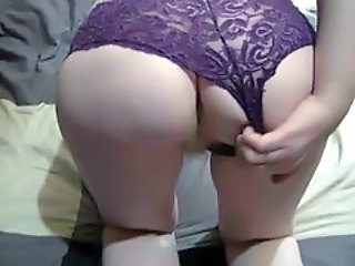Ass Hairy Masturbating Panty Solo