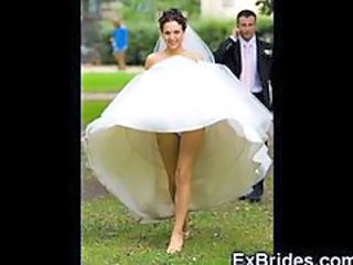 Wedding Day Upskirts!