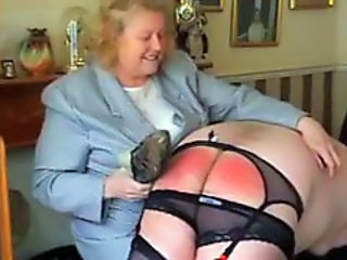 Naughty Nephew Spanked by Strict Mature