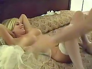 Blonde Bride Stockings