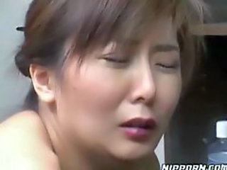 Fooling with Asian slut and getting head