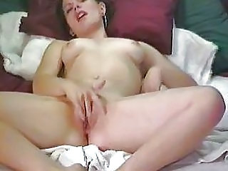 Masturbating to orgasm