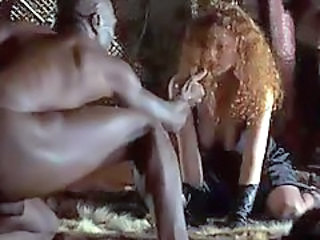 Interracial Redhead Stockings