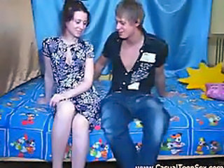 Amazing Brunette Sister Virgin Young