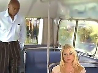 Blond Buss Interracial