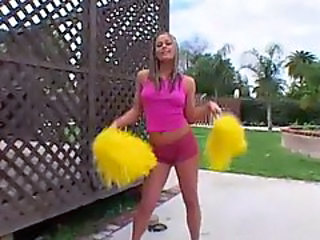 Blonde Cheerleader