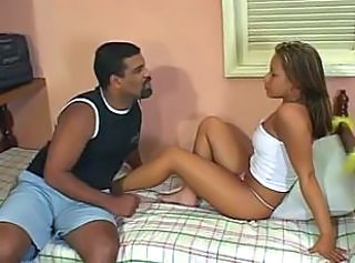 Hot brasilian latino babe having her pussy licked