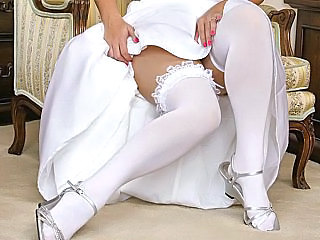 Bride Clothed Stockings