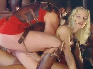 Blonde Cute European Hardcore Orgy Threesome