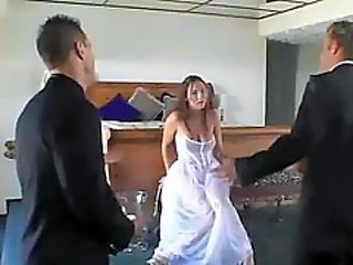Bride Groupsex Threesome