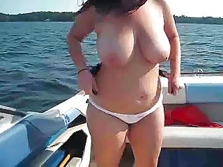 Big Tits Brunette Chubby Natural SaggyTits