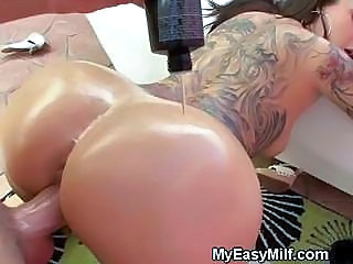 Tattooed Milf Doggystyled</a>
