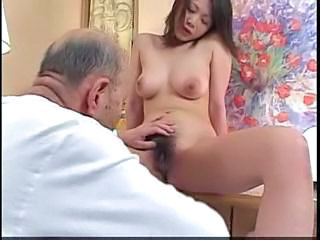 Asian Hairy Old and Young Pussy
