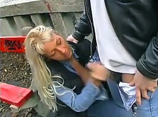 Handjob in public places part 1 of 2 - snake