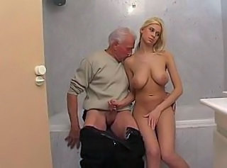 "Blond Babe Teen And Old Man"" target=""_blank"