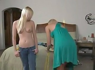 Invited as guest (Lesbian blondes)