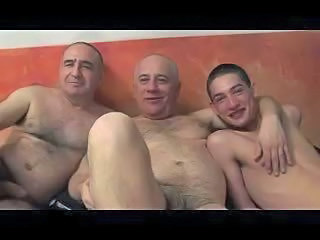 Double Whammy - Steamy Threeway Fuck With Mature Gays