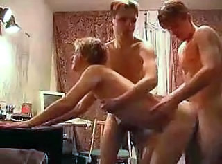 2 Russian Boys Fuck Blond Milf Pt. 2 by snahbrandy