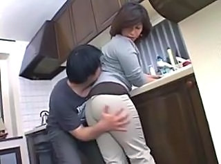 Asian Kitchen Mature Mom