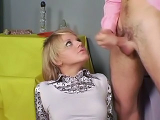 Blonde Blowjob Teen