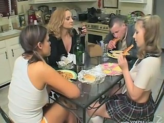 Family Hardcore Kitchen Mature Teen