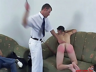 Woman Fucked & Spanked At Porno Casting - 3 Of 3