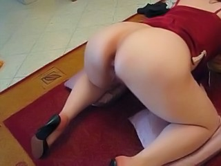 Amateur Anal Ass Gaping Homemade Lingerie