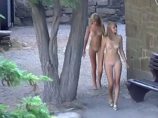 Nudist Outdoor Shaved