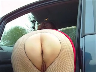 Amateur Ass Car Fishnet Homemade Mature Panty