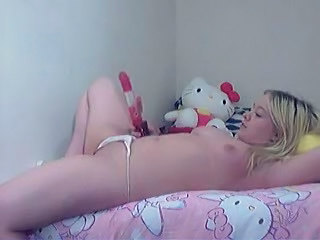 Amateur Blonde Chubby Cute Homemade Small Tits Solo Toy
