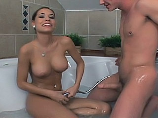 Super Cute Czech Bathing & Fucking Her Boyfriend