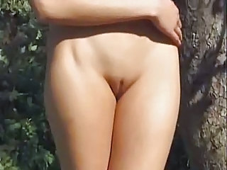 Outdoor Pussy Shaved