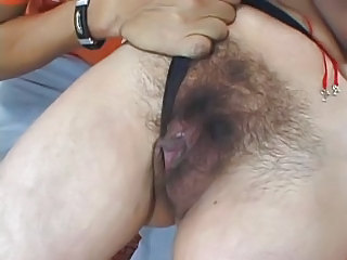 Sexy Hairy Mature Woman Gets Fucked Really Hard